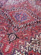 New listing 7.8 x 10.8 Vintage Fine Heriz Rug Serapi Antique Kazak Oushak Caucasian Kula