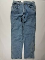 Wrangler Vintage 34 X 34 Blue Relaxed Fit Men's USA Made Cotton Denim Jeans NWT