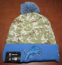 New Era NFL Detroit Lions Salute To Service Sport Knit (Camouflage) BRAND NEW!