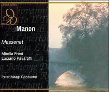 Massenet: Manon / Maag, Pavarotti, Freni, Panerai, et al,  Live