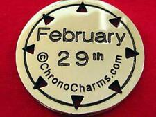 RARE Leap Year Day date February 29th ChronoCharm Charm Pendant for necklace new