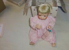 1994 The Ashton Drake Galleries All Gone Porcelain Baby Doll Hallmark