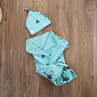Toddler Newborn Baby Boy Girl Warm Blankets Soft Stretch Wrap Swaddle Blanket