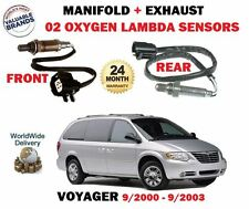 FOR CHRYSLER GRAND VOYAGER 3.3 2000-> MANIFOLD + EXHAUST O2 OXYGEN LAMBDA SENSOR