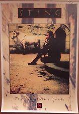 "Music Poster~Sting 10 Summoner's Tales Nos 23x35"" 1993 Original Import Police~"