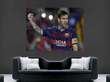 Lionel Messi Poster Sport FC Barcelona la Liga España Pared Arte Impresión
