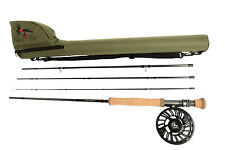 River to Reef Nano Helix Universal Fly Rod,Reel,All Lines,Go to Flies Combo 8-10