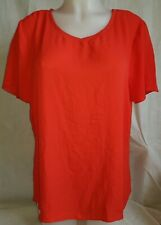 Gorgeous red PAPAYA party evening top Size 18
