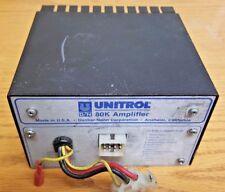 Unitrol 480K w/ 80K amp Federal Signal UNITROL 80K Amplifier 100W