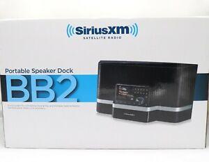 Sirius XM BB2 Portable Speaker Dock and Accessories SXABB2