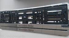 2xPortamatriculas Mercedes cromo (w204,w211,w205,w117,w221,w176,w163,w164,w220)