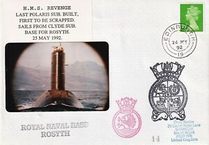 HMS Revenge Last Polaris Sub Built. First to be Scrapped sails to Rosyth