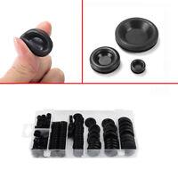 170Pcs Rubber Grommet Firewall Hole Plug Car Electrical Wire Gasket Kit 7 Size