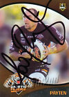 ✺Signed✺ 2009 WESTS TIGERS NRL Card TODD PAYTEN Daily Telegraph