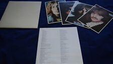 The Beatles White Album Aussie Pressing Vinyl LP Record EX w/ Photos + Poster