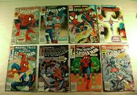 Lot of 8 Marvel Comics Spider-Man with Marvel Tales Classic & Spectacular
