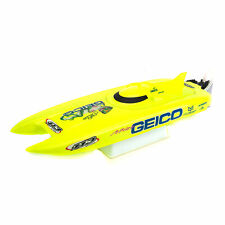 "Pro Boat Miss Geico 17"" Brushed Catamaran Ready to Run"