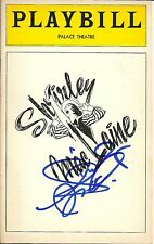 Shirley MacLaine signed Playbill