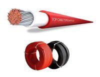 Cable Solar 6mm² 10 Metros 5R+5N para equipo solar y Hogal etc...