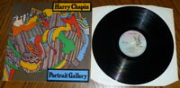 Harry Chapin - Portrait Gallery -  vinyl LP K52023 Elektra 1975