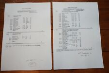 More details for 1967 fascimilie buxton & longsight railway loco diagrams engine workings
