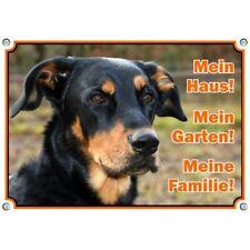 Hundeschild - Beauceron - Metallschild vom französischen Schäferhund