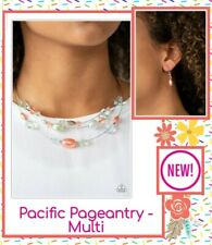 Paparazzi Jewelry Necklace Set (NEW) Pacific Pageantry • Multi