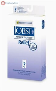 Jobst Relief 30-40 mmHg Closed Toe Thigh Highs Compression Support