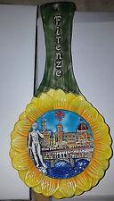 Firenze Cucchiaio in Ceramica da Appendere Duomo Ponte Vecchio David - Nuovo