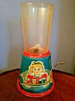 "Vintage Yonezawa Tin Litho Toy MIXER / BLENDER 7"" T~ Ray Rohr Cpsmic Artifacts"