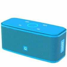 Doss Touch Wireless Bluetooth V4.0 Portable Speaker with HD Sound and Bass Blue