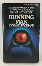 The Running Man by Richard Bachman (Paperback, 1982) First U.S. Printing/Edition