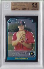 2003 Bowman Chrome Jonathan Papelbon Rookie Graded BGS 9.5