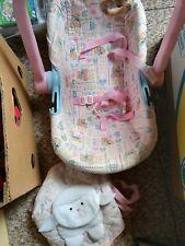 Puppen Maxi Cosi + Bauchtragetasche