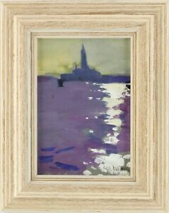 Venice Original Oil Painting by Ken Howard R.A. (British, 1932-)