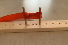 Peg Bow Maker Kit, Different Size Bows, Handmade, Craft, Ribbon Bows, Wooden