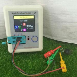 LCR-TC1 Transistor Tester ESR Capacitance Meter Electronic PNP NPN I7C1