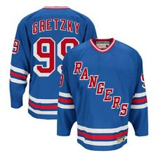 Wayne Gretzky CCM New York Rangers Heroes of Hockey Authentic Throwback Jersey