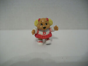 """DOTTIE THE DOG 2"""" MINI FIGURE, THE GET ALONG GANG, TOMY 1984"""
