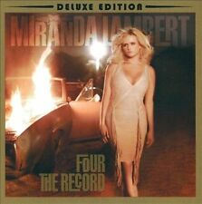 Miranda Lambert Four The Record Deluxe Edition CD & DVD Fastest Girl In Town