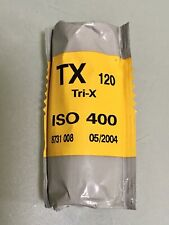 KODAK TX Tri-X 120 | ISO 400 | Black & White Print Film | Expired