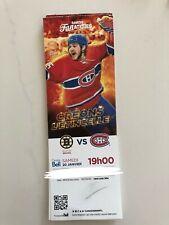 unused hockey tickets Montreal Canadiens 2017 season Shaw