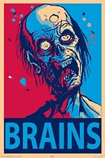 ZOMBIE - BRAINS POSTER 24x36 - 24969