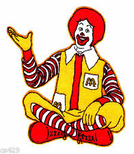 "2.5"" RONALD MCDONALD  MCDONALDS CHARACTER FABRIC APPLIQUE IRON ON"