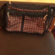 LE SPORTSAC Deluxe Nylon Crossbody Bag Terrazzo Print 2003 Made in USA SOLD OUT