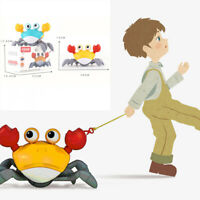 Swimming Bath Windup Crabs Clockwork Push & Pull Toy for Kids Boys Girls