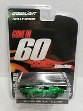 Rare Greenlight Gone In 60 Seconds 1967 Ford Mustang Eleanor Green Machine Chase