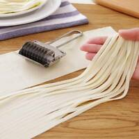Stainless Steel Dough Noodles Bread Pie Pastry Lattice Roller Bake Slicer Cutter