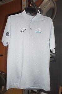 Nike Philadelphia Eagles Super Bowl 52 LII Media Night Player Polo  FOLES! Sz L