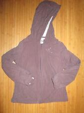 Veste à capuche,marron/prune,ML,T8ans,marque Décathlon,en TBE